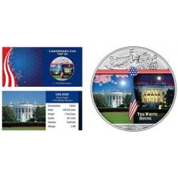 USA - 1 DOLLAR 2020 - WHITE HOUSE - 1 OZ - SILVER EAGLE