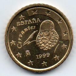 ESPAGNE - KM 1045 - 50 CENT 1999 - CERVANTES