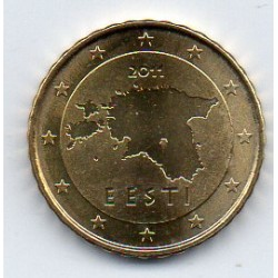 ESTONIA - KM 64 - 10 CENT 2011