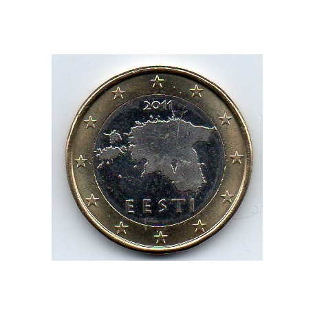 ESTONIA - KM 67 - 1 EURO 2011
