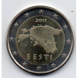 ESTONIA - KM 68 - 2 EURO 2011