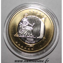 MONACO - 1 EURO 2005 - THE GRIMALDI PALACE - PROTOTYPE