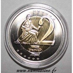 MONACO - 2 EURO 2005 - THE GRIMALDI PALACE - PROTOTYPE