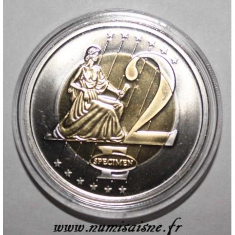 MONACO - 2 EURO 2005 - THE GRIMALDI PALACE - PROTOTYPE