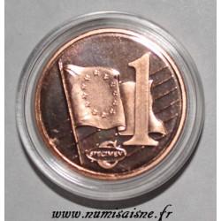 VATICAN - 1 CENT EURO 2009 - BENEDICT XVI - PROTOTYPE