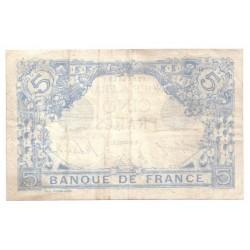 FAY 02/47 - 5 FRANCS BLEU - 29/01/1917 - VERSEAU - SUPERBE - PICK 70