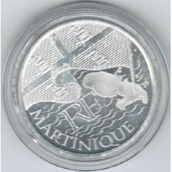 EUROS DES REGIONS - 10 EURO MARTINIQUE 2010 - SILVER
