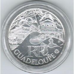 EUROS DES REGIONS - 10 EURO GUADELOUPE 2011 - SILVER