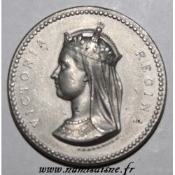 "GREAT BRITAIN - VICTORIA - 1872 - ""STRUCK IN EXHIBITION"""