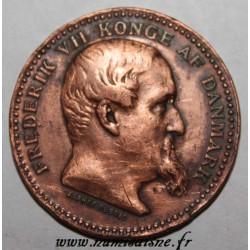 DENMARK - MEDAL - FREDERIK VII 1848-1850