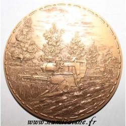 MEDAL - Agricultural Medal - Golden Bronze