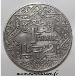 MAROC - Y 36 - 1 FRANC 1921 - AH 1339