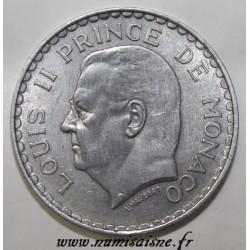 MONACO - KM 122 - 5 FRANCS 1945 - LOUIS II