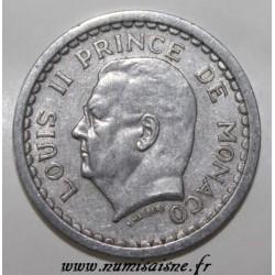 MONACO - KM 120 - 1 FRANC - NON DATÉ (1943) - LOUIS II