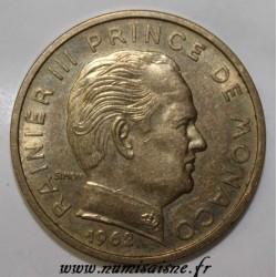 MONACO - KM 144 - 50 CENTIMES 1962 - RAINIER III