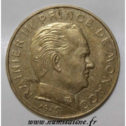 MONACO - KM 143 - 20 CENTIMES 1979 - RAINIER III
