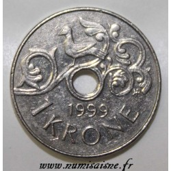 NORVÈGE - KM 462 - 1 KRONE 1999 - HARAL V