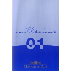 FRANCE - EURO COIN SET PROOF 2001 - MONNAIE DE PARIS