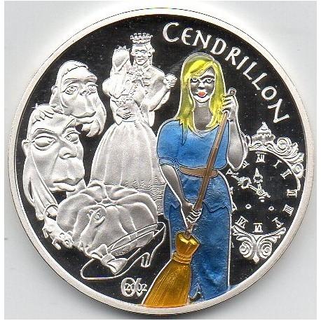 FRANCE - KM 1841 - CHILDREN'S TALES - CINDERELLA - 1 ½ EURO 2002