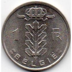 BELGIUM - KM 143 - 1 FRANC 1980 - CERES TYPE - FLEMISH LEGEND