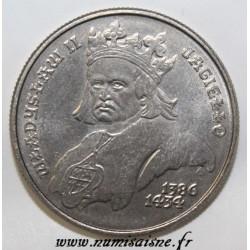 POLAND - Y 194 - 500 ZLOTYCH 1989 - WLADYSLAW II JAGIELLO
