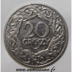 POLAND - Y 12 - 20 GROSZY 1923