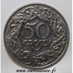 POLAND - Y 13 - 50 GROSZY 1923