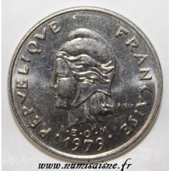 FRENCH POLYNESIA - KM 8 - 10 FRANCS 1979 - I.E.O.M.