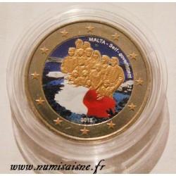 MALTA - 2 EURO 2013 - GOVERNMENT AUTONOMY 1921 - COLOR
