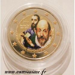 GREECE - 2 EURO 2014 - 400 years of death Doménikos Theotokopoulos - El Greco - COLOR