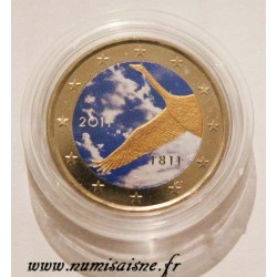 FINLAND - 2 EURO 2011 - 200 YEARS OF THE FINNISH BANK - COLOR