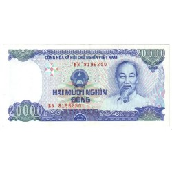 VIETNAM - PICK 110 a - 20 000 DONG - 1991 - TYPE HO CHI MINH - SPENDIDE
