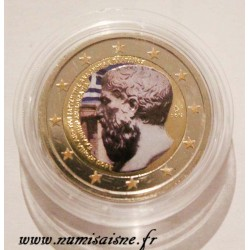 GREECE - 2 EURO 2013 - ACADEMY OF PLATO - COLOR