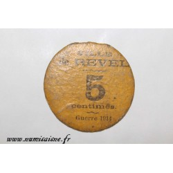 County 31 - REVEL - 5 CENTIMES 1914