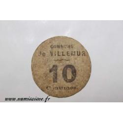 County 31 - VILLEMUR - 10 CENTIMES