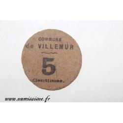 County 31 - VILLEMUR - 5 CENTIMES