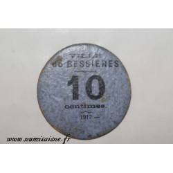County 31 - BESSIERES - 10 CENTIMES 1917