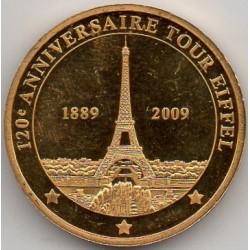 PARIS - EIFFEL TOWER 1889-2009 - 120TH ANNIVERSARY - EUROPE