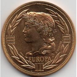FRANCE - MEDAL - EUROPA - ECU 1986