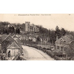 County 60240 - OISE - CHAUMONT IN VEXIN - GENERAL VIEW