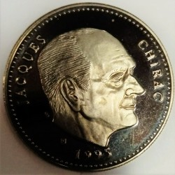 FRANCE - MEDAL - PRESIDENT JACQUES CHIRAC - 1995