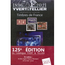 TIMBRES DE FRANCE (STAMPS OF FRANCE) 1896-2021 - YVERT & TELLIER
