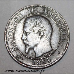 FRANCE - KM 776 - 2 CENTIMES 1854 BB - Strasbourg - NAPOLÉON III