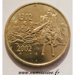 LUXEMBOURG - MEDAL - 1302 - 2002 - Golden spur
