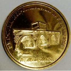 FRANCE - 02 - AISNE - LAON - EURO CITIES - 5 EURO 1998 - POMA LE MINI METRO