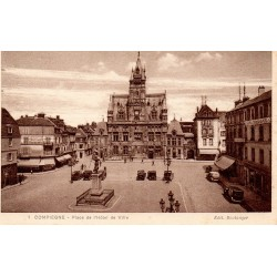 County 60200 - OISE - COMPIEGNE - Town hall
