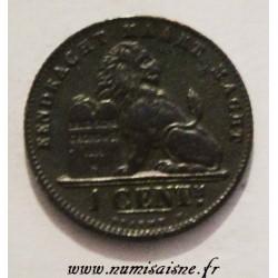 BELGIUM - KM 34- 1 CENTIME 1907