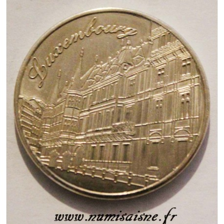 LUXEMBOURG - MEDAL - HERITAGE - GRAND DUCAL PALACE - 2016