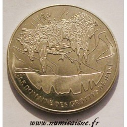 BELGIUM - MEDAL - THE HAN CAVES AREA - 2015