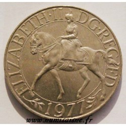 GREAT BRITAIN - KM 920 - 25 NEW PENCE 1977